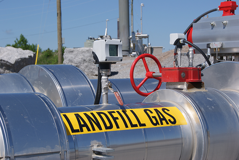 Niagara Landfill Gas Utilization Project Heats equivalent of 80,000 Homes